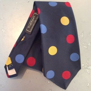 Gorgeous multicolored Paul Stuart silk tie